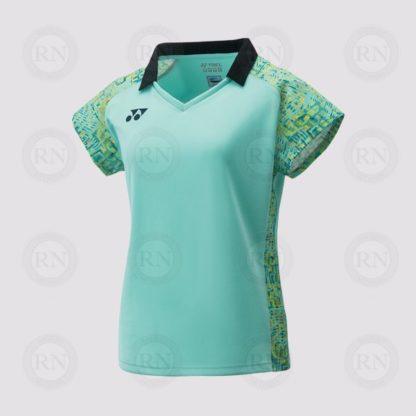 Yonex Women's Cap Sleeve Top 20411 Mint Green
