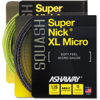 ASHAWAY SUPERNICK MICRO SQUASH STRING