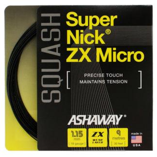 ASHAWAY SUPERNICK ZX MICRO SQUASH STRING