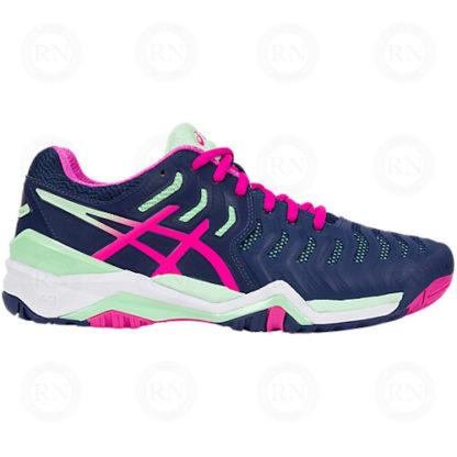 ASICS GEL RESOLUTION 7 Ladies Tennis Shoe Pure Racket Sport