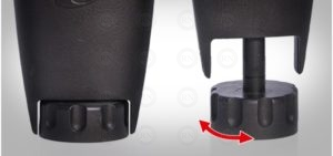 Illustration: Adjustable Large Leg Pads