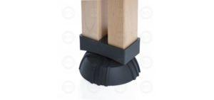 Illustration: Adjustable Leg Pad 850 Wood