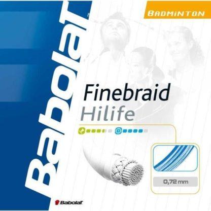 BABOLAT FINEBRAID HILIFE BADMINTON STRING