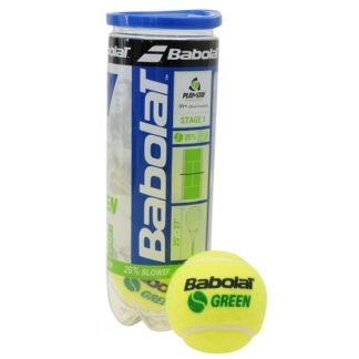 BABOLAT GREEN TENNIS BALLS TUBE 3