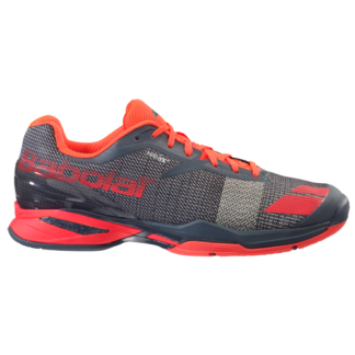 BABOLAT JET ALL COURT TENNIS SHOE GREY RED