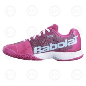 BABOLAT JET MACH I LADIES PURPLE BLUE INNER ASPECT