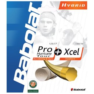 ABOLAT PRO HURRICANE TOUR + XCEL TENNIS STRING
