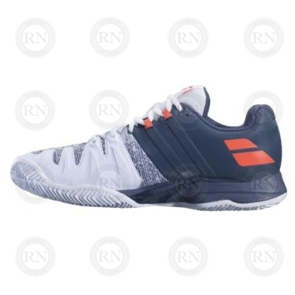 OUTER ASPECT OF BABOLAT PROPULSE BLAST CLAY COURT TENNIS SHOES
