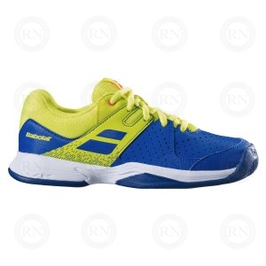 BABOLAT PULSION JUNIOR AC BLUE YELLOW OUTER ASPECT
