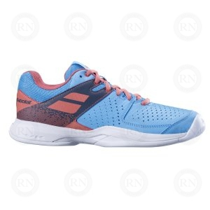 BABOLAT PULSION AC LADIES BLUE PINK OUTER ASPECT