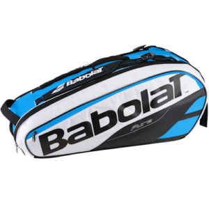 BABOLAT PURE LINE RACQUET BAG X6 BLUE-WHITE