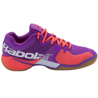BABOLAT SHADOW TOUR LADIES BADMINTON SHOE PURPLE/WHITE 234