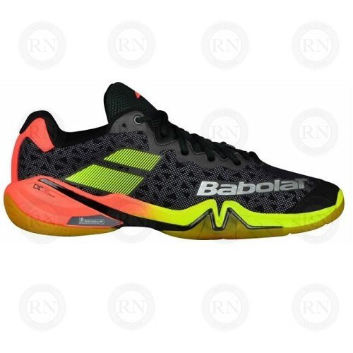 BABOLAT SHADOW TOUR BLACK-YELLOW-BADMINTON-SHOE