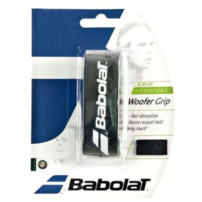 BABOLAT WOOFER REPLACEMENT GRIP BLACK RED