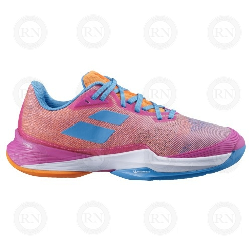 Catalog Image for Babolat Jet Mach 3 All Court Ladies Tennis Shoe Hot Pink
