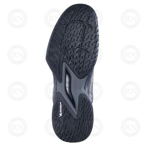 Catalog image of Babolat Jet Mach 3 All Court Tennis Shoe Black Gold Sole