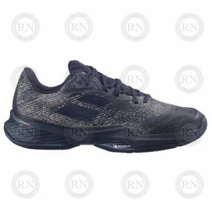 Catalog Image of Babolat Jet Mach 3 Clay Tennis Shoe Black Gold Exterior Aspect