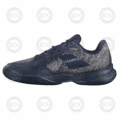 Catalog image of Babolat Jet Mach 3 Clay Tennis Shoe Black Gold Interior Aspect