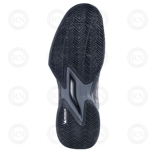 Catalog image of Babolat Jet Mach 3 Clay Tennis Shoe Black Gold Sole