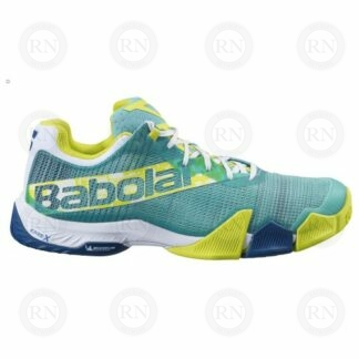 Product image showing outer aspect of Babolat Jet Premura padel shoe
