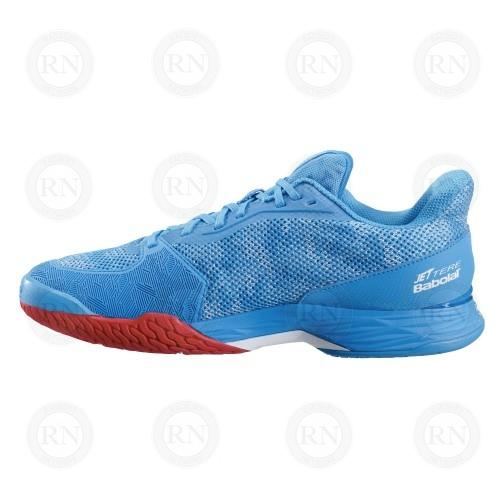 Catalog image of Babolat Jet Tere All Court Tennis Shoe Hawaiian Blue Interior Aspect
