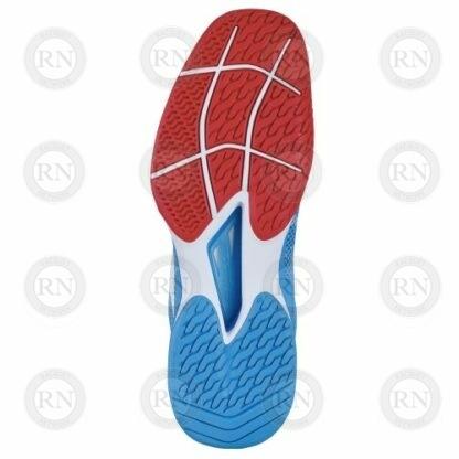 Catalog image of Babolat Jet Tere All Court Tennis Shoe Hawaiian Blue Sole