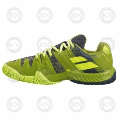 Product image showing inner aspect of Babolat Movea padel shoe