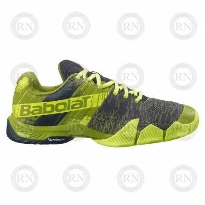 Product image showing outer aspect of Babolat Movea padel shoe