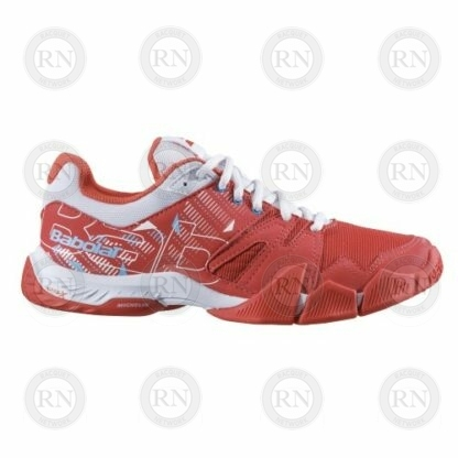 Product image showing outer aspect of Babolat Pulsa ladies padel shoe