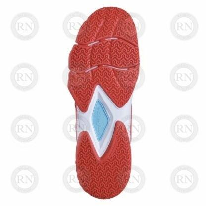 Product image showing sole of Babolat Pulsa Ladies padel shoe