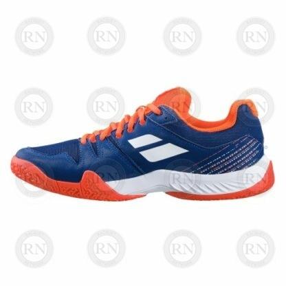 Product image showing inner aspect of Babolat Pulsa padel shoe