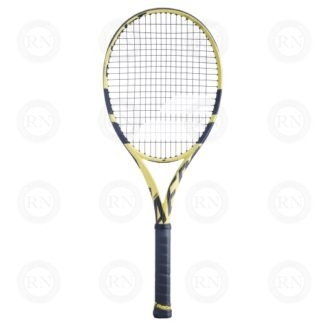 Product knock out of a Babolat Pure Aero Plus Tennis Racquet Front