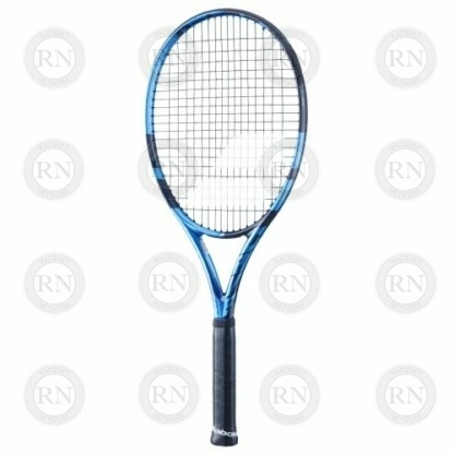 Catalog image of a Babolat Pure Drive 110 tennis racquet turned to the right