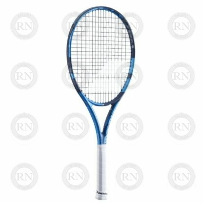 Catalog image of a Babolat Pure Drive Lite tennis racquet turned to the left