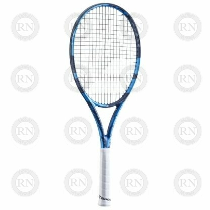 Catalog image of a Babolat Pure Drive Team tennis racquet turned to the left