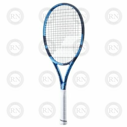 Catalog image of a Babolat Pure Drive Team tennis racquet turned to the right