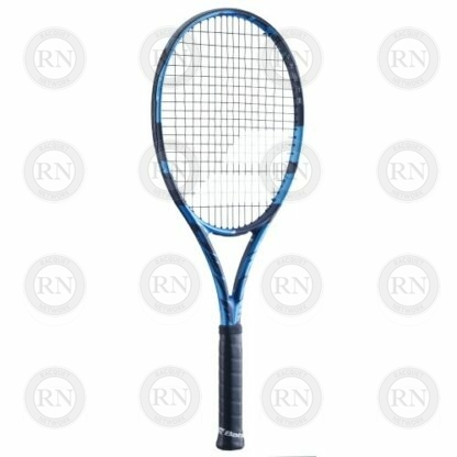Catalog image of a Babolat Pure Drive Tennis Racquet turned to the left