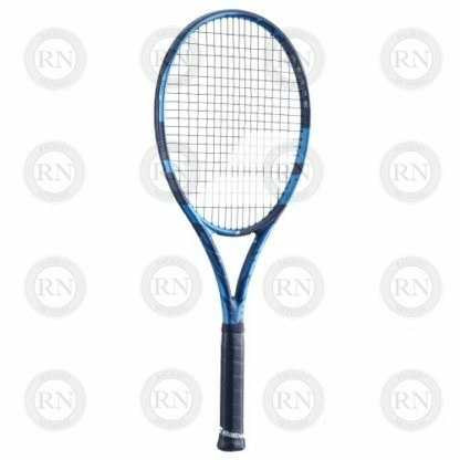 Catalog image of a Babolat Pure Drive Tour tennis racquet turned a little to the left