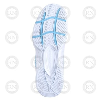 Product Knock Out: Babolat SFX3 Ladies Tennis Shoe - White Blue - Sole