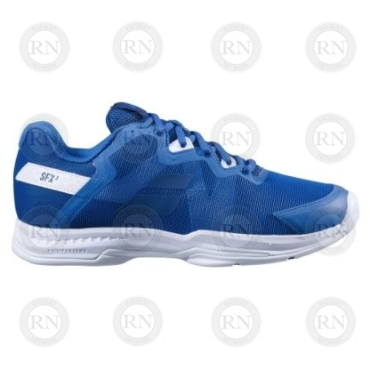 Product Knock Out: Babolat SFX3 Tennis Shoe - Blue - Inner Aspect