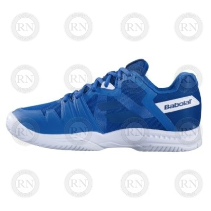 Product Knock Out: Babolat SFX3 Tennis Shoe - Blue - Outer Aspect