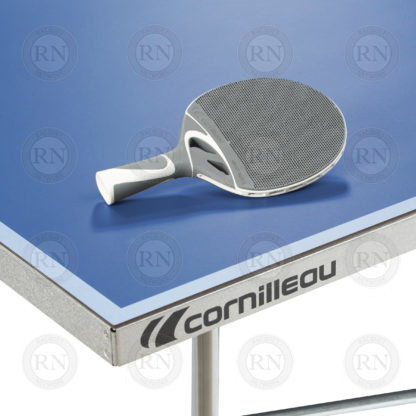 Illustration: Cornilleau 100S Crossover Table Tennis Table Blue - Corner