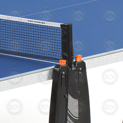 Illustration: Cornilleau 100S Crossover Table Tennis Table Blue - Net