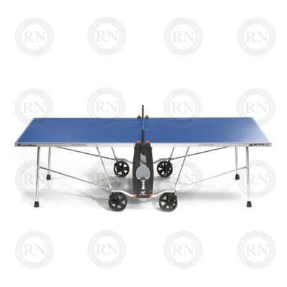 Illustration: Cornilleau 100S Crossover Table Tennis Table Blue - Profile