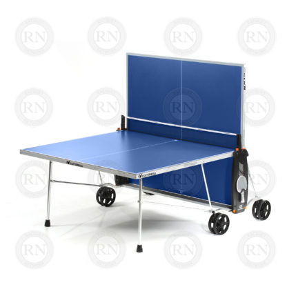 Illustration: Cornilleau 100S Crossover Table Tennis Table Blue - Solo Game