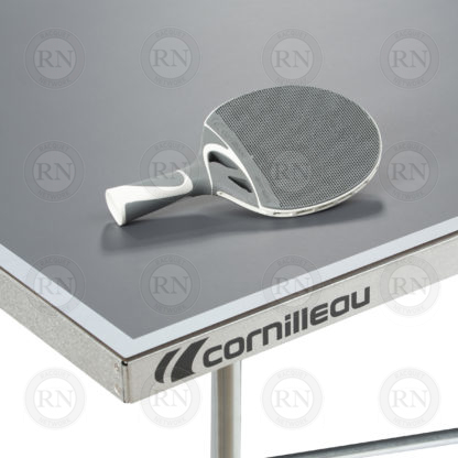 Illustration: Cornilleau 100S Crossover Table Tennis Table Grey - Corner