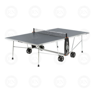Product Knock Out: Cornilleau 100S Crossover Table Tennis Table Grey - Open