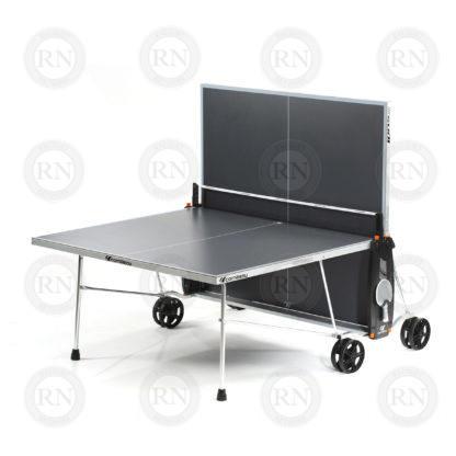 Illustration: Cornilleau 100S Crossover Table Tennis Table Grey - Solo Game