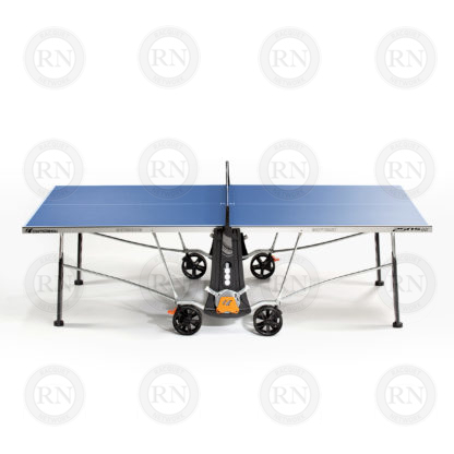 Illustration: Cornilleau 250S Outdoor Table Tennis Table Blue - Profile