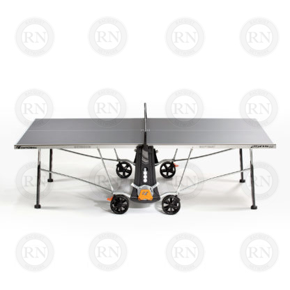Illustration: Cornilleau 250S Outdoor Table Tennis Table Grey - Profile